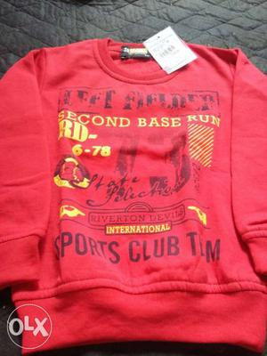 Winter t-shirts for boys at very reasonable price