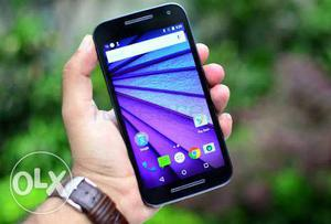 Moto g3 good conditoin bill box charger Availible
