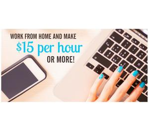 Part time and full time and home based Internet work