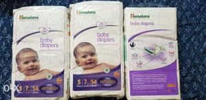 Several Himalaya Baby Diaper Packs