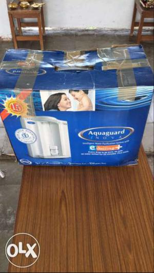 White Aquaguard Water Purifier Box