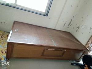 Wooden bed with storage 6 feet x 3 feet