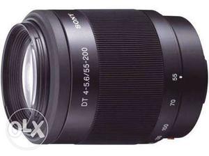 Black Sony DT  Lens