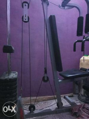 Gym equipment machine 5 in 1 (chest, thighs,