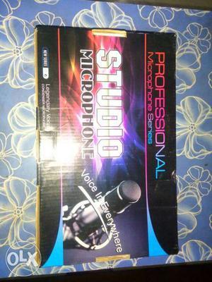 Imported Condenser studio microphone, brand new,