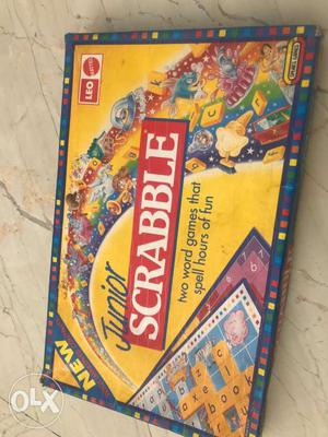 Junior Scrabble Board Game Box