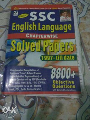SSC English Language Chapterwise Solved Papers Book