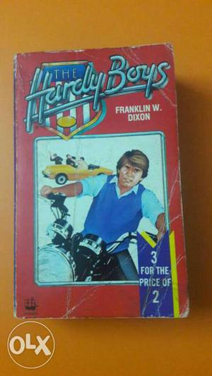 Story book at 100. hardy boys 3 in 1 book. used