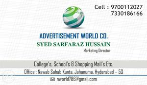 Wanted boys & Girls for marketing