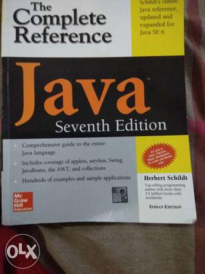 Brand new 7th Edition The Complete Reference Java Book