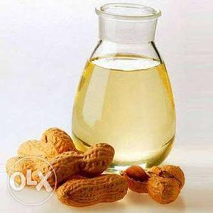 Cold pressed Groundnut oil Rs.215 per litre. Pure