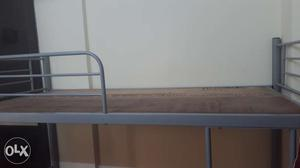 Iron bunkbed with heavy guage and mattress with