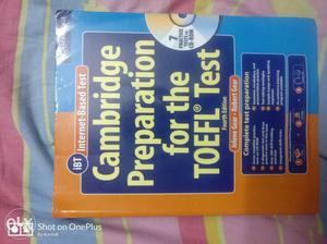 The best book for TOEFL prep. brand new, 3 months