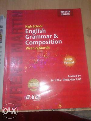 Wren And Martin High School English Grammar With