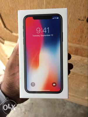 Brand new sealed pack factory unlocked IPhone X