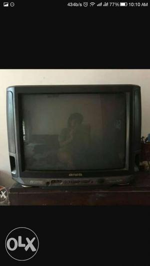 Aiwa colour crt tv 21 inch 100% working + remote
