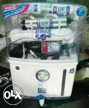 Box pack aquafresh ro water purifiers with UV