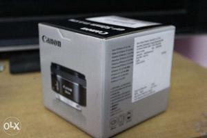 Canon EF50MM F/1.8 STM Lens for Canon DSLR Cameras - Box