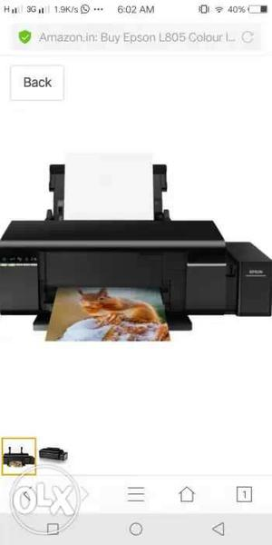I want to sell my Epson printer L805 awesome