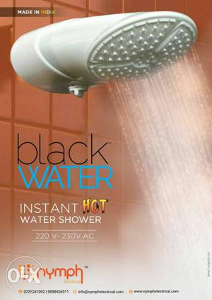 Instant hot water shower it's new product in
