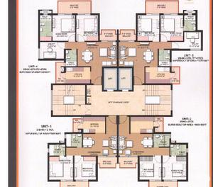 Omaxe 3 BHK Flats Rera Approved Omaxe The Resort Mullanpur