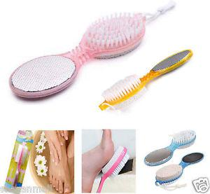 4 in 1 pedicure brush cleanse scrubber buff Foot Scrubber