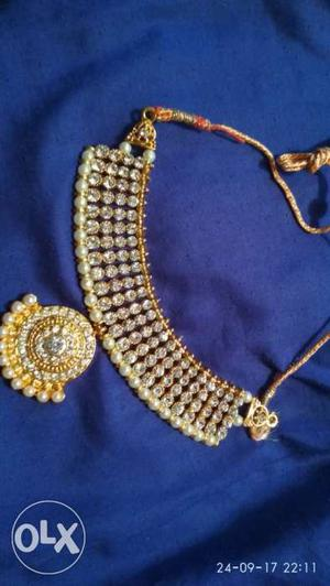 All new beautiful necklace set in cheep prize