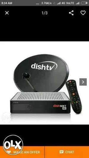 Black Dish TV Satellite Dish Screenshot