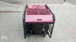 Gray And Black Portable Generator