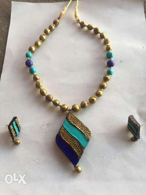 Handcrafted terracotta jewellery