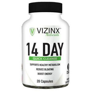 VIZINX 14 Day Quick Cleanse - Supports The Elimination of