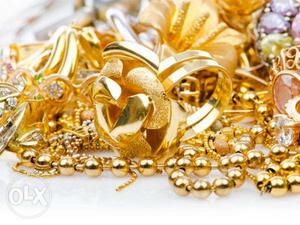 We buy ur used gold jewels at market value at