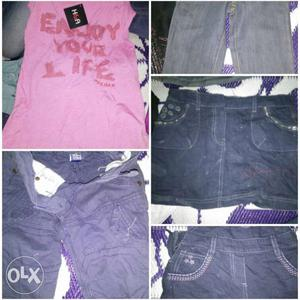 Branded kids wear stock lot in a throw away price