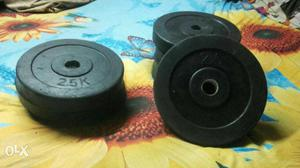 20 kg (2.50 x 8) rubber dumbell plate