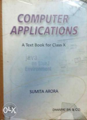 Computer Applications By Sumita Arora Book