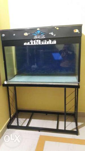 Aquarium with stand and top cover for sell