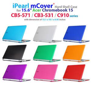 "NEW iPearl mCover® Hard Case for 15.6"" Acer Chromebook 15"