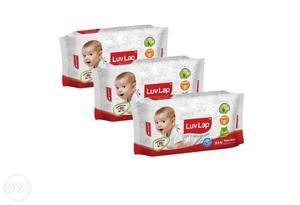 Luvlap baby wipes buy 2 get 1 free mrp Rs.99