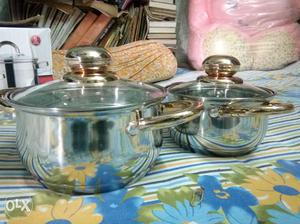 Wellburg 4 pieces cook and serve set 1.2 lit and