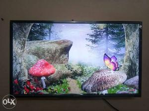 42 inch smart full HD Black Flat Screen LED TV with warranty