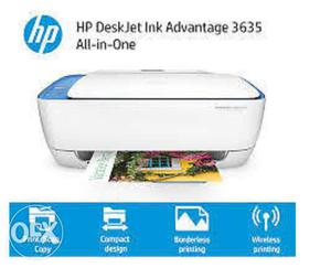 HP All In One Photo WiFi Printer With Warranty