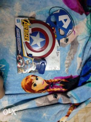 Original Hasbro Captain America Shield with