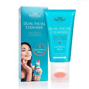 Belle Azul Dual Facial Cleanser with Exfoliating Cleansing