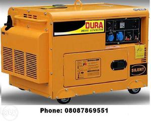 Compact Size Portable Diesel Generator Set with Soundproof