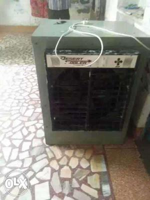 Gray And Black Evaporative Air Cooler