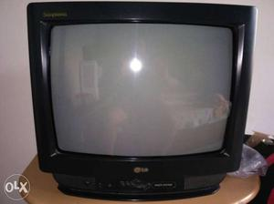 LG CRT TV With Remote