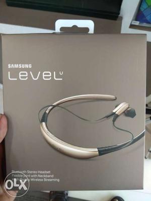 Samsung Level u freshbox with warrenty