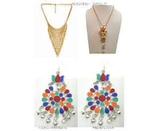 Fedexo handicraft antique combo necklace, earring. New Delhi