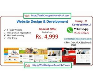 Website Design Pune at Cheapest Price Rs  Pune