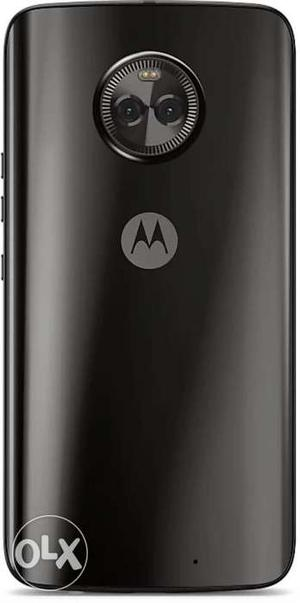 Moto x4 20 days used new mobile Call